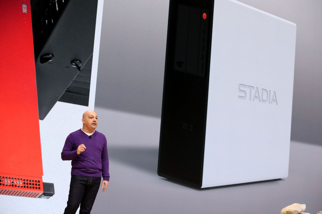 Google Stadia Video Game Streaming Service