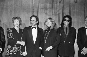 Steven Spielberg at Awards Ceremony