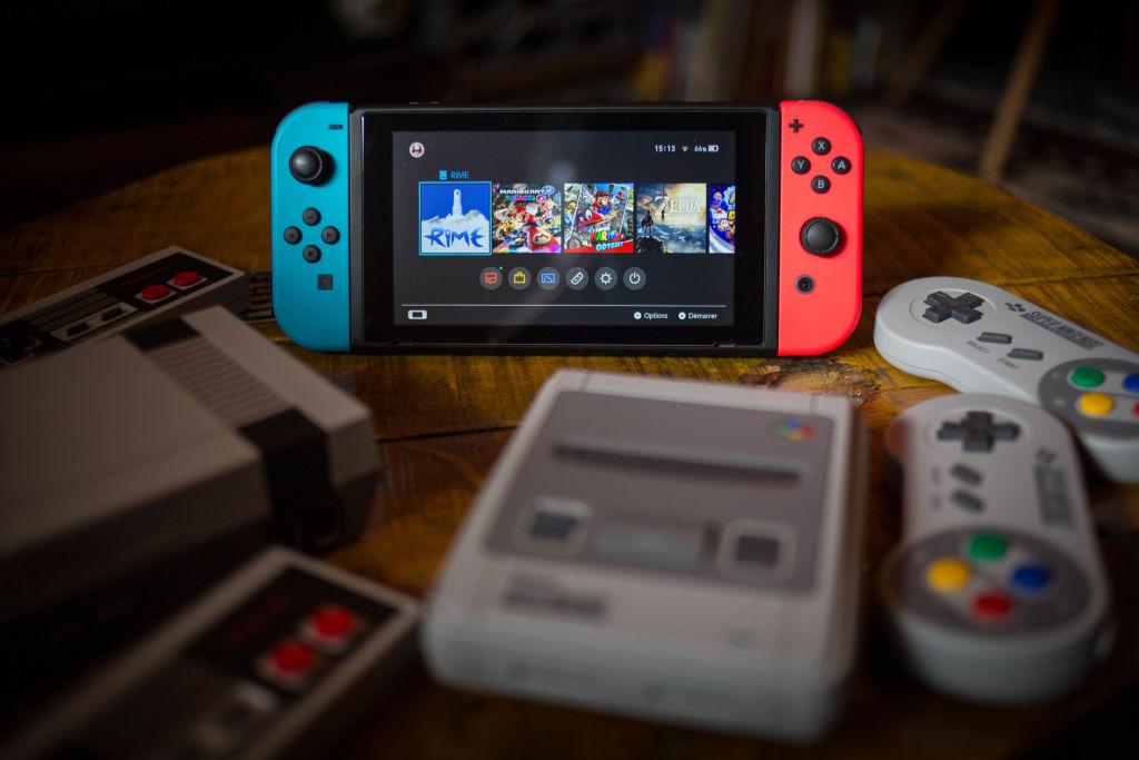 New Nintendo Switch Consoles