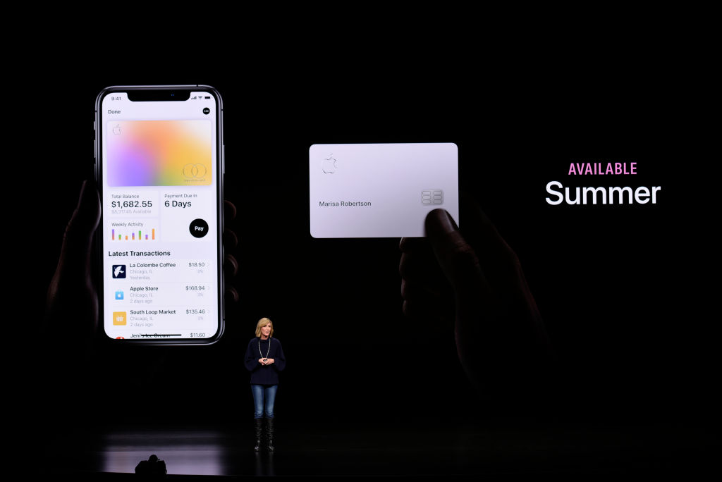 Apple Credit Card Reactions
