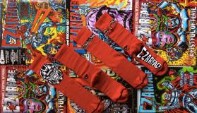 Arvin Goods X CZARFACE Sock Line