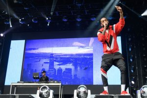 Nipsey Hussle Performs at Broccoli City Festival in Washington, D.C.