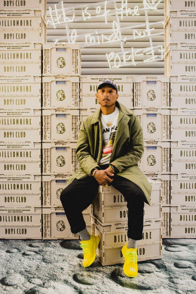 Pharrell WIlliams x BBC Crate