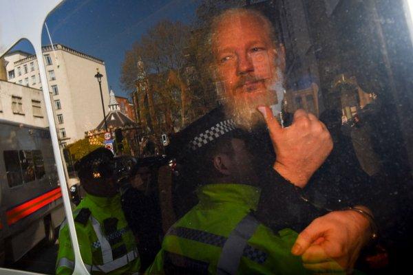 Julian Assange Arrested In London