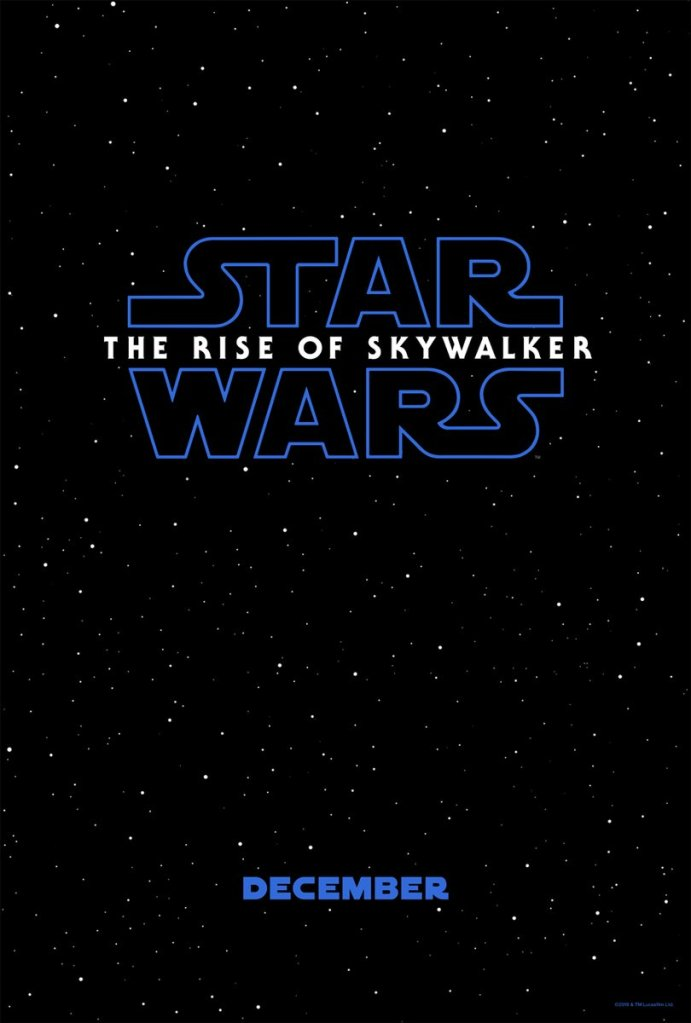 Star Wars The Rise of Skywalker poster