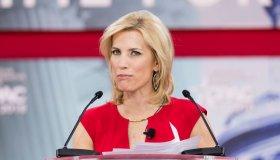 Laura Ingraham, American radio host, at the Conservative...
