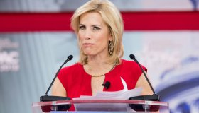 Laura Ingraham, American radio host, at the Conservative...