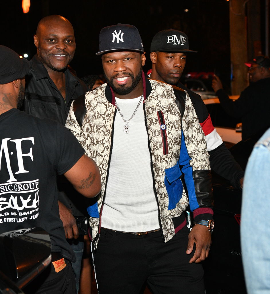 The Grand Opening Of Kiss Ultra Lounge Hosted By 50 Cent