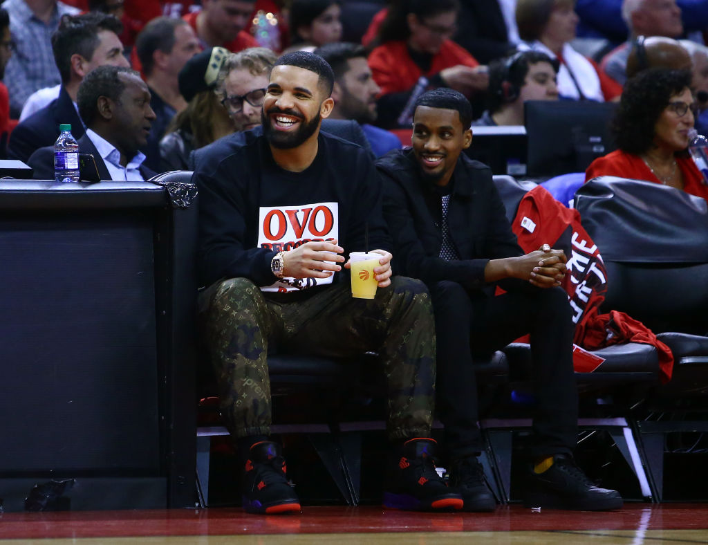 Drake Jokes About His Jinx With Reporters Following Raptors Win