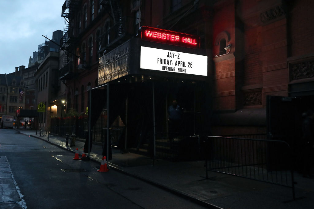 Jay-Z Performs At Webster Hall - Backstage