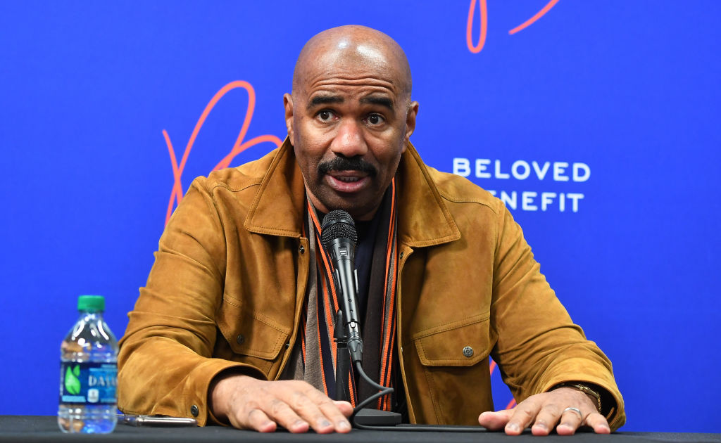 Steve Harvey Says Rich People Don't Sleep 8 Hours, Twitter Drags Him