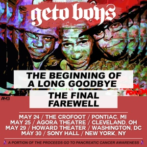Geto Boys Final Tour Poster