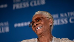 Dionne Warwick At National Press Club Private Screening And Dinner