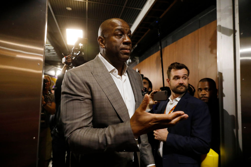 Magic Johnson Denies Being A Bully While Working For The Lakers