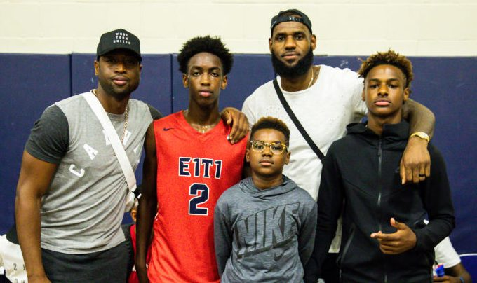 LeBron James Jr. & Zaire Wade Attending The Same High School, Report