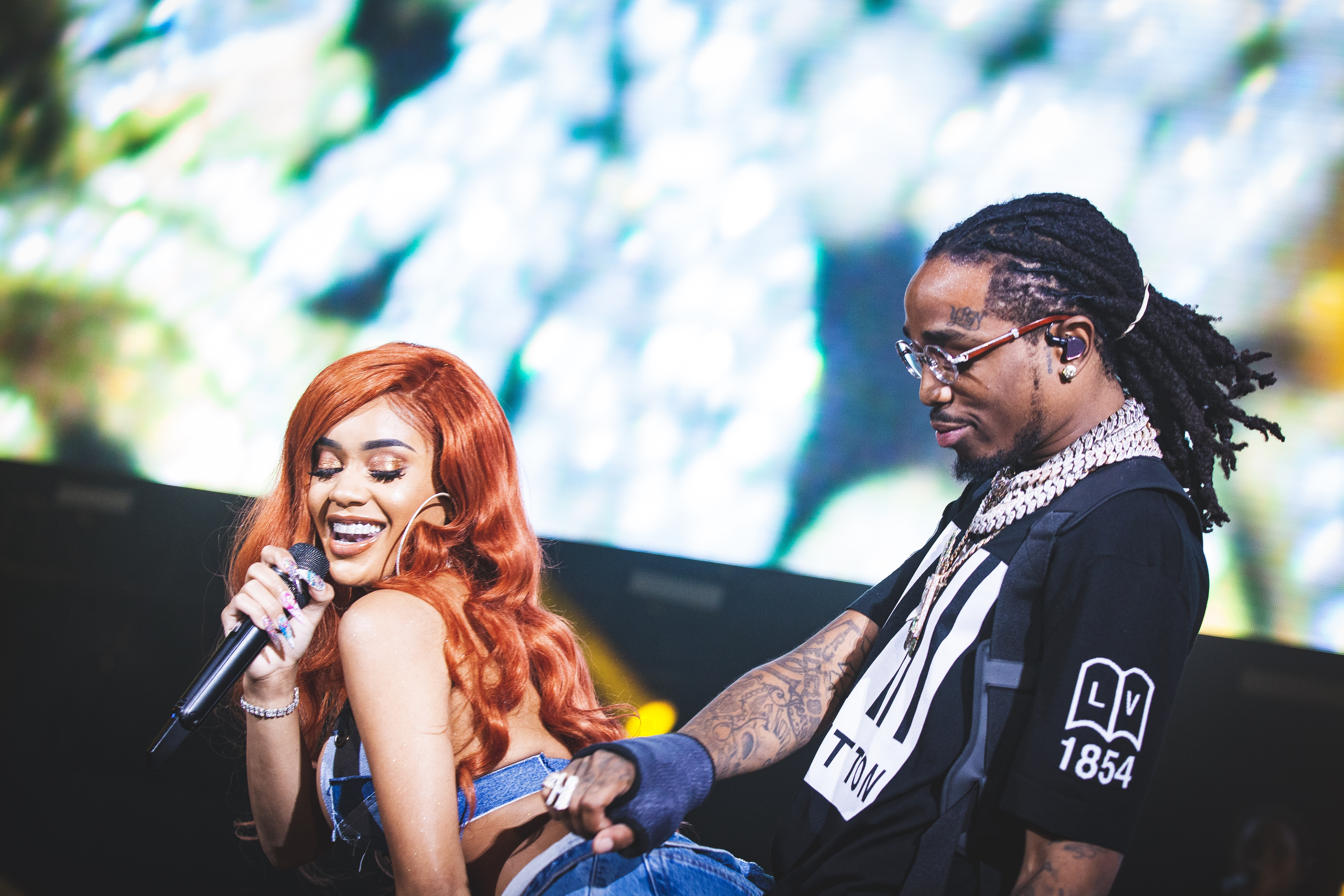 Saweetie Hints At Quavo Cheating On Her, Twitter Reacts