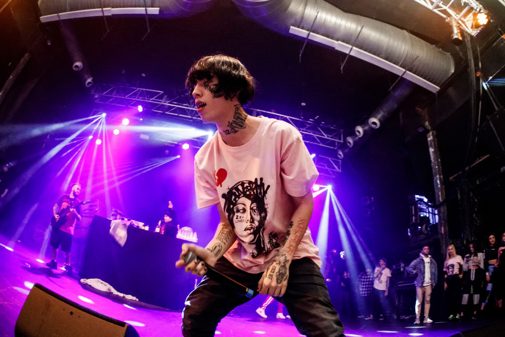 Lil Xan Performs In Concert In Barcelona