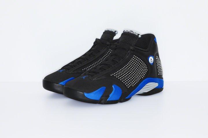 Supreme x Air Jordan 14