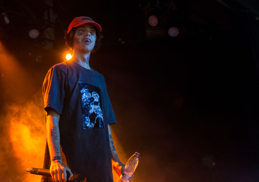 Lil Xan Performs In Concert In Madrid