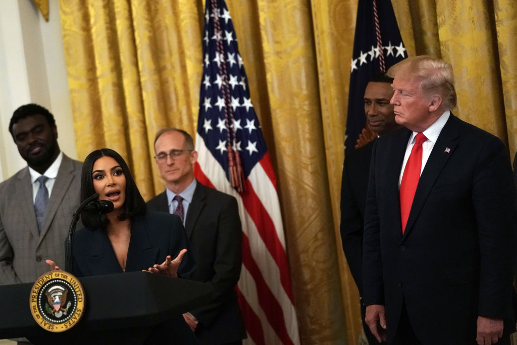President Donald Trump Delivers Remarks On Second Chance Hiring Initiative