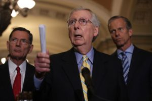 Senate Lawmakers Hold Press Availability After Weekly Policy Luncheons