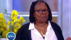 Whoopi Goldberg during an appearance on ABC's 'The View.'