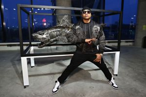 Roger Gastman And LL COOL J Host BEYOND THE STREETS Opening Night At 25 Kent