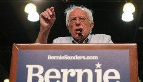 Bernie Sanders Campaigns In Los Angels