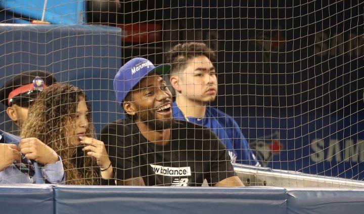 Toronto Blue Jays play the Los Angeles Angels