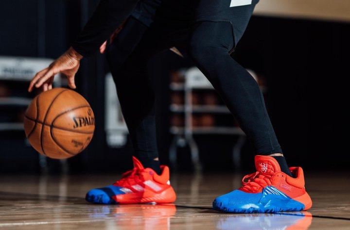 adidas x Marvel Donovan Mitchell sneaker