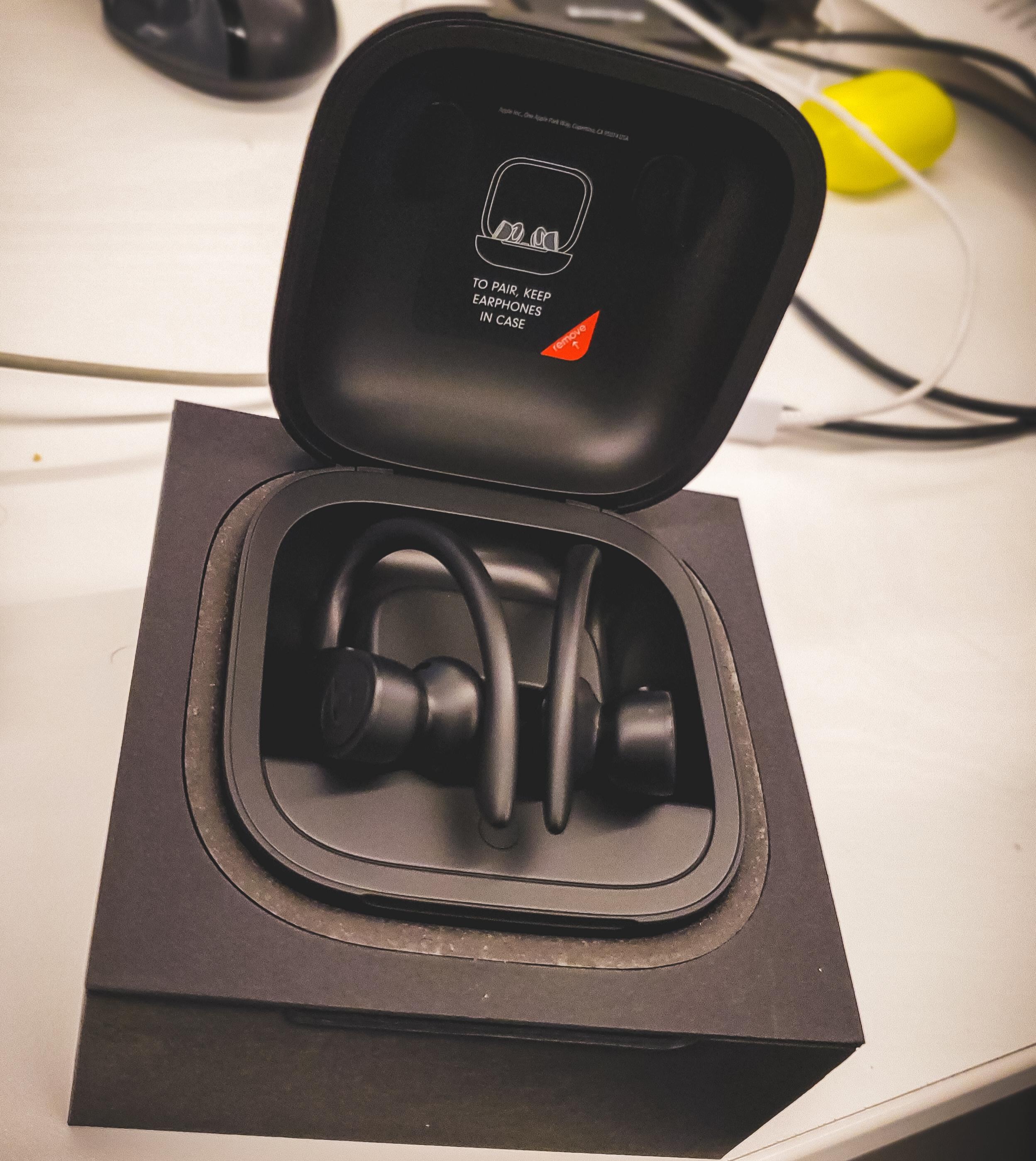 Beats By Dre PowerBeats Pro and Samsung Galaxy Buds