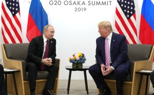 Vladimir Putin - Donald Trump meeting in Osaka