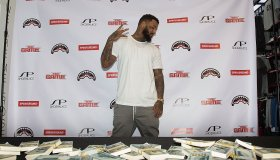 The Game x Sprayground Collaboration Signing At Shoe Palace