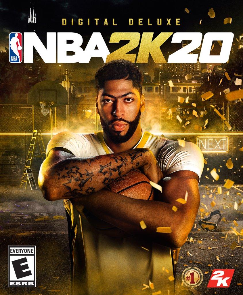 Anthony Davis x NBA 2K Developers To Reveal 'NBA 2K20' On Twitter
