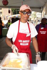 LA Mission Easter Dinner for the Homeless