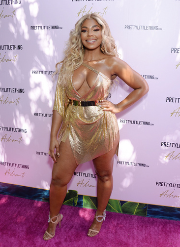 PrettyLittleThing X Ashanti Launch event