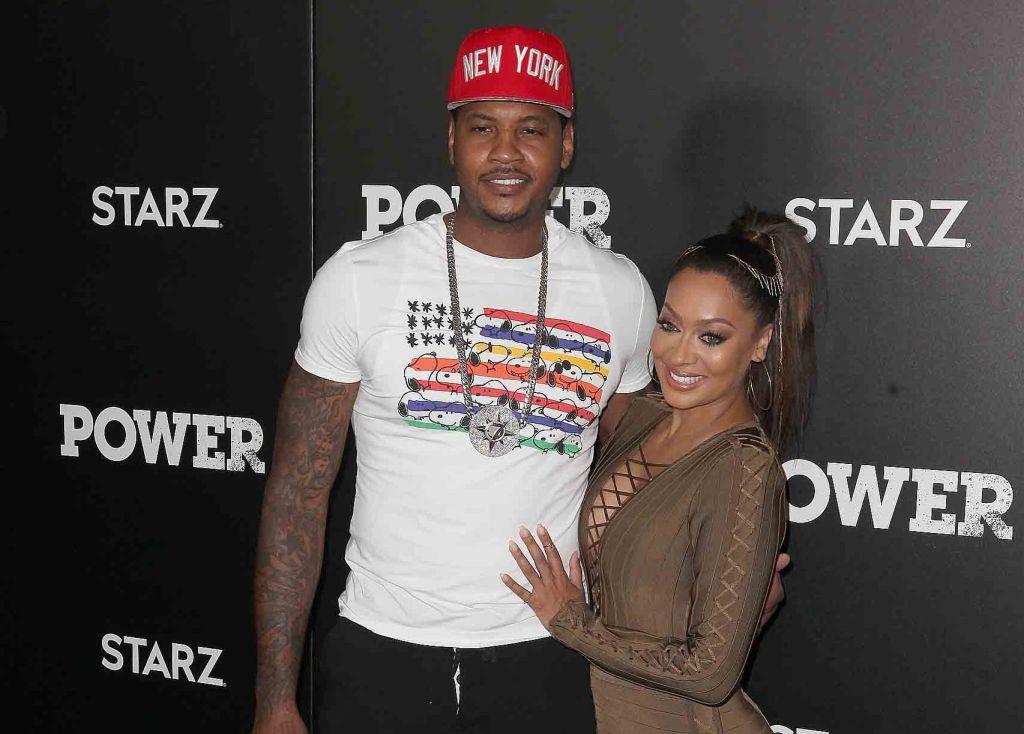 "La La & Carmelo Splitting Up, Confirms She Is In ""Legal Discussions"""