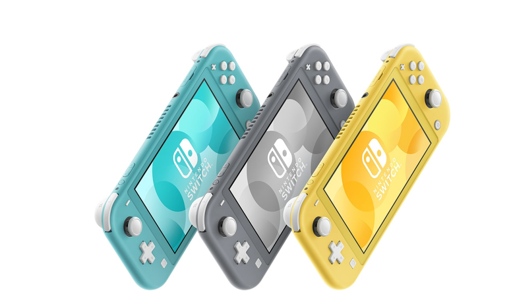Nintendo Announces Cheaper, Smaller Nintendo Switch Lite