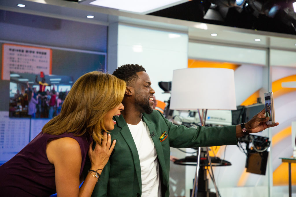 Kevin Hart, Serena Willams Teaming Up With Snapchat For Creator Shows