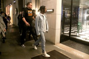 A$AP Rocky shopping in Milan