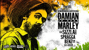 """Damian """"Jr. Gong"""" Marley Concert The Anthem"""