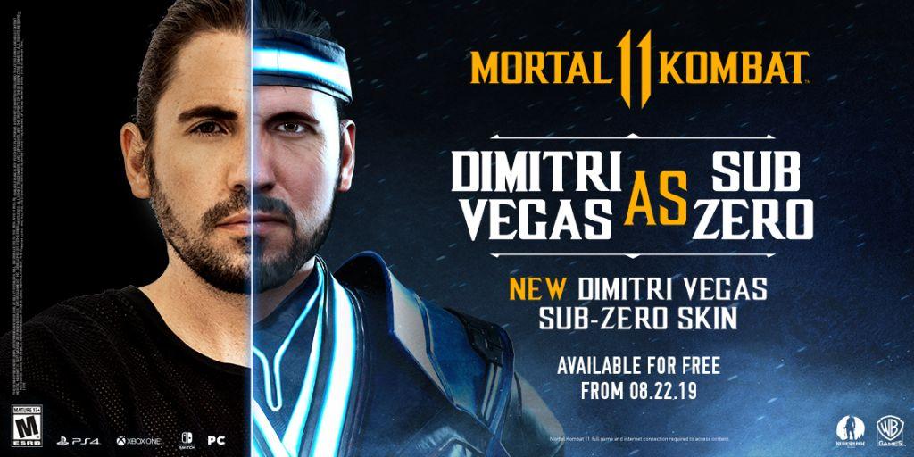 'Mortal Kombat 11' Dropping Free DJ Dimitris Vegas Sub-Zero Skin