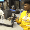 Blueface on the Breakfast Club 2