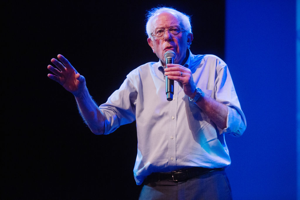 Celebrities Attend Bernie Sanders Grass-Roots Fundraiser In Hollywood, CA