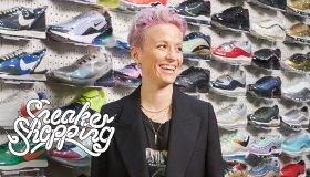 Megan Rapinoe Sneaker Shopping