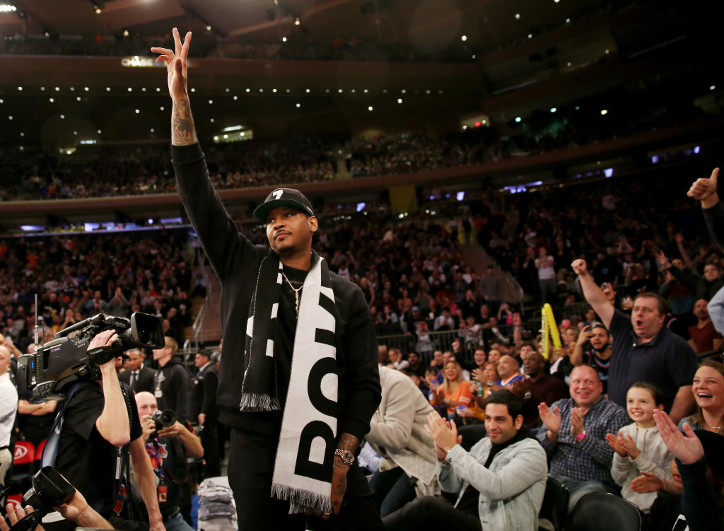 Carmelo Anthony Says He Can Still Play In The NBA, Twitter Agrees