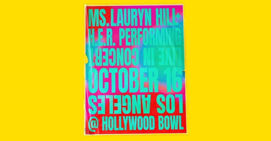Ms. Lauryn Hill & H.E.R. Hollywood Bowl
