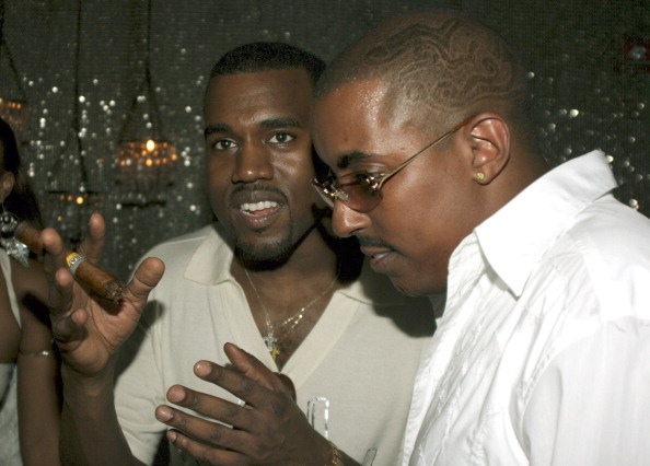 Kanye West Hosts G.O.O.D Music Pre Vma Party - September 7, 2005