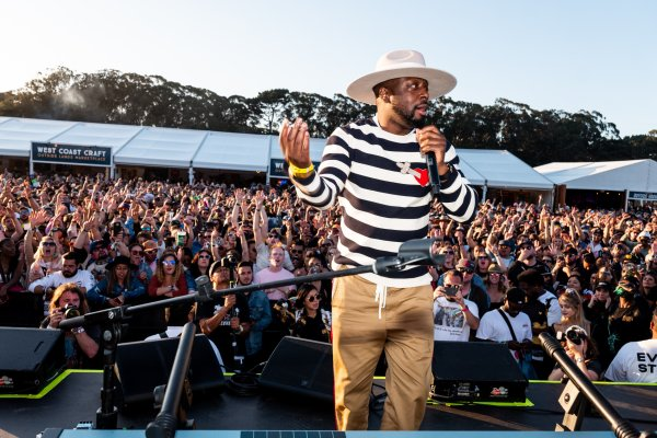Wyclef at House By Heineken Outside Lands Festival 2019