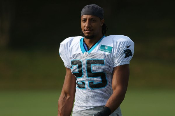 NFL: JUL 28 Panthers Training Camp
